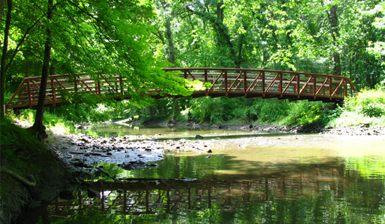 Bridge in Mill Creek Park
