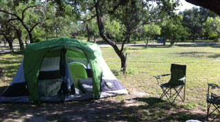 Camping at Garner State Park