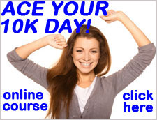 Ace Your 10K Day! online course